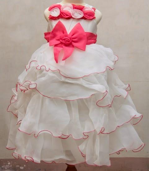 contoh model baju gaun anak