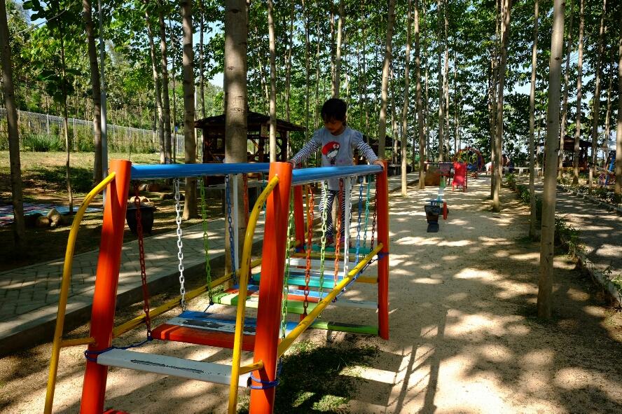 Wisata Hammock Kekinian di Bukit Dhoho Indah Kediri