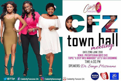 Celebrity Fanzone To Hold 2nd Edition Of Town Hall Meeting At Presec, Legon