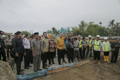 Gubernur Ridho Dorong Percepatan Pembangunan Kompleks Perkantoran Pesisir Barat