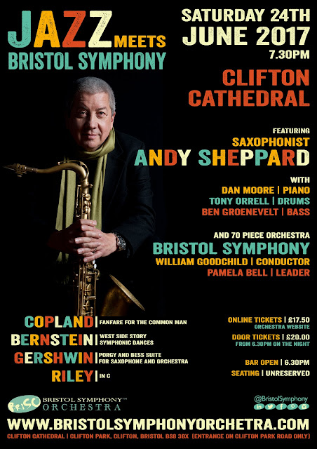 DESIGN PROJECT: JAZZ MEETS BRISTOL SYMPHONY WITH ANDY SHEPPARD 2017