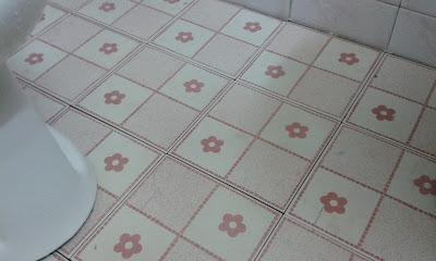 ล้างห้องน้ำด้วยไฮเตอร์ซักผ้าขาว