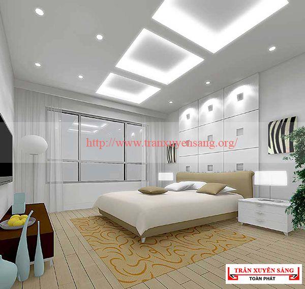 Trần phòng ngủ hiện đại 2