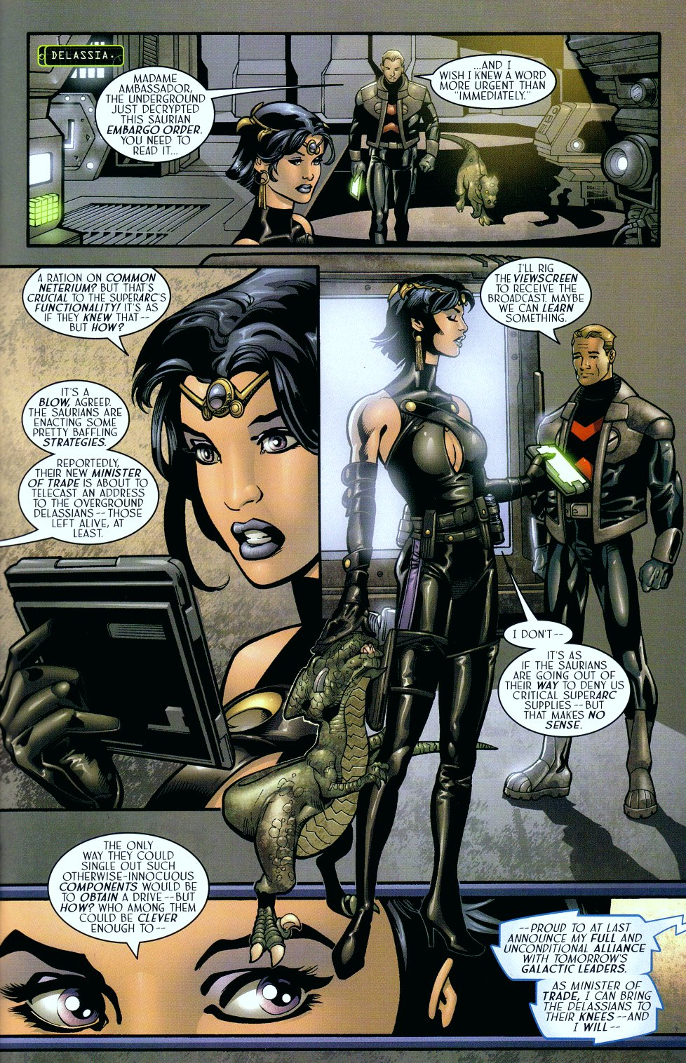 Read online Sigil (2000) comic -  Issue #18 - 22