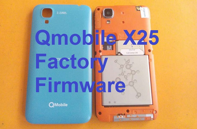 Qmobile X25 Flash File