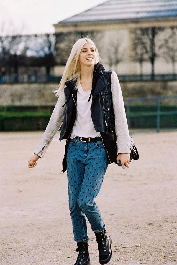 Vanessa Jackman Paris Fashion Week Aw 2014 Devon