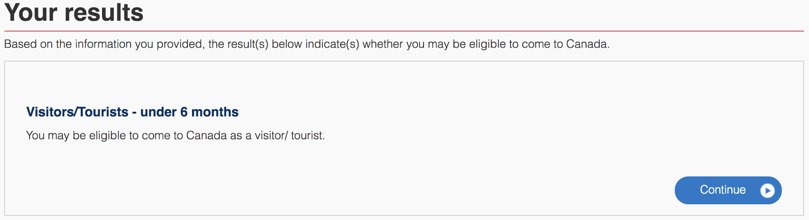 CanadaTouristVisaApplicationGuide_Eligibility Multiple Visa Application Form Canada on