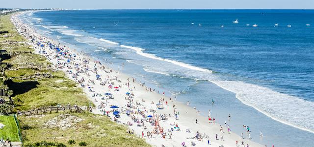 Praia Jacksonville na Flórida