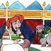 قصة وعبرة : قصة اشعب الاكول أبو جعفر المنصور