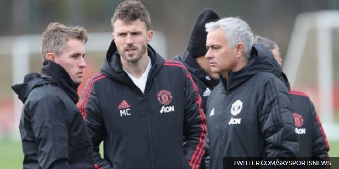 Michael Carrick Jadi Pelatih Sementara Manchester United Pengganti Mourinho