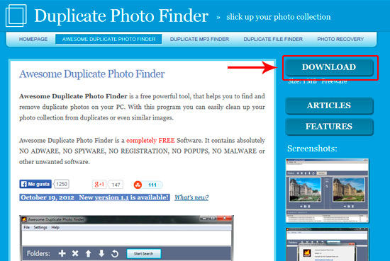Find Similar or Exact Duplicate Photos 02