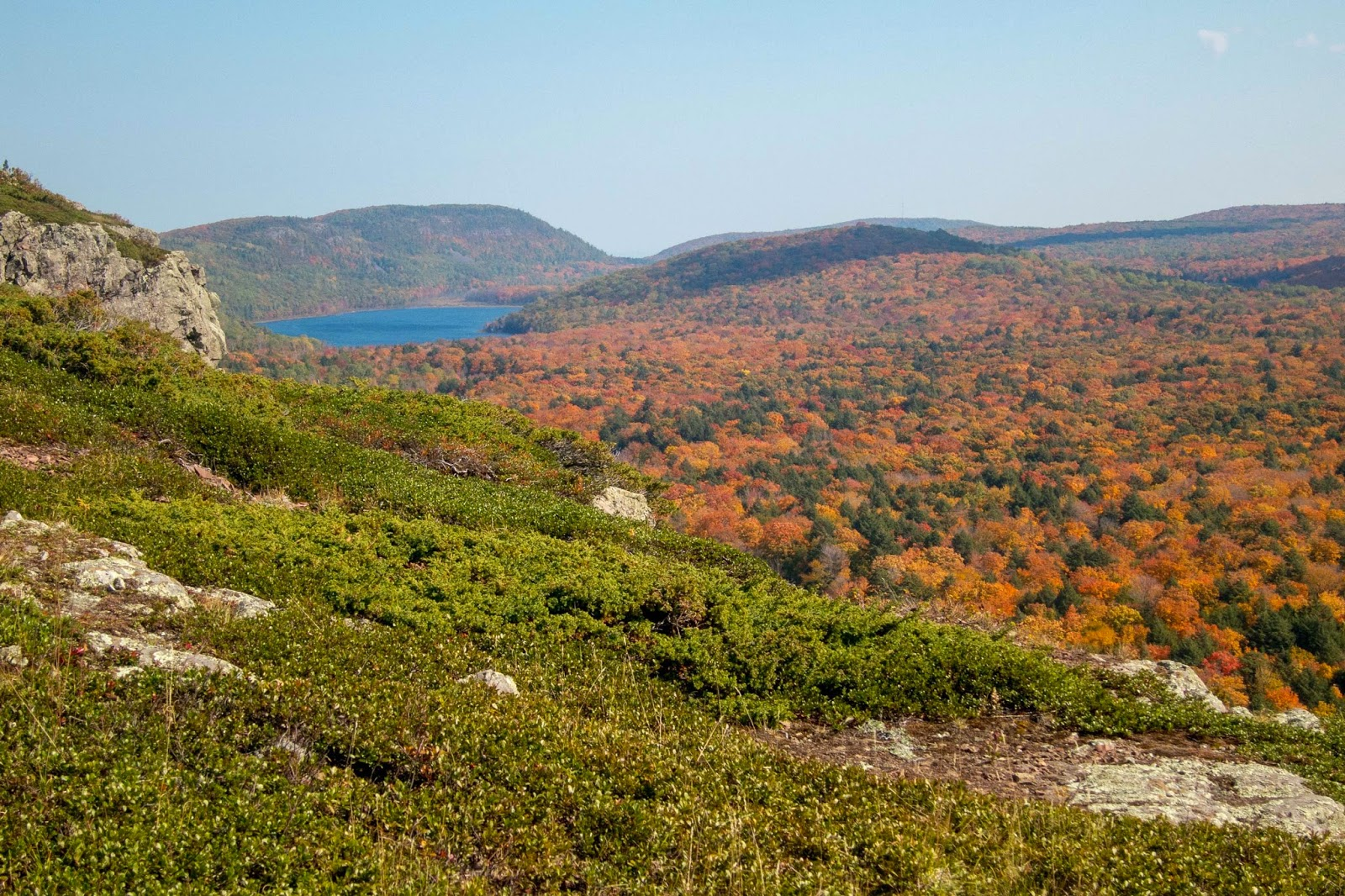 Eric S Hikes Porcupine Mountains Loop