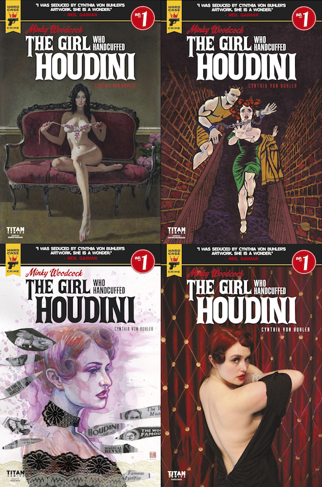 WILD ABOUT HARRY: The Girl Who Handcuffed Houdini #1 released
