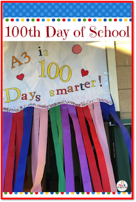 100th Day of School Celebration. Activities to celebrate the 100th day- 100th day hats, snacks, Fruit Loop necklaces, writing to 100 and so much more.