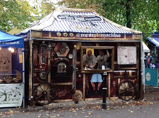 Mr D's Pie Machine at Cheltenham Market