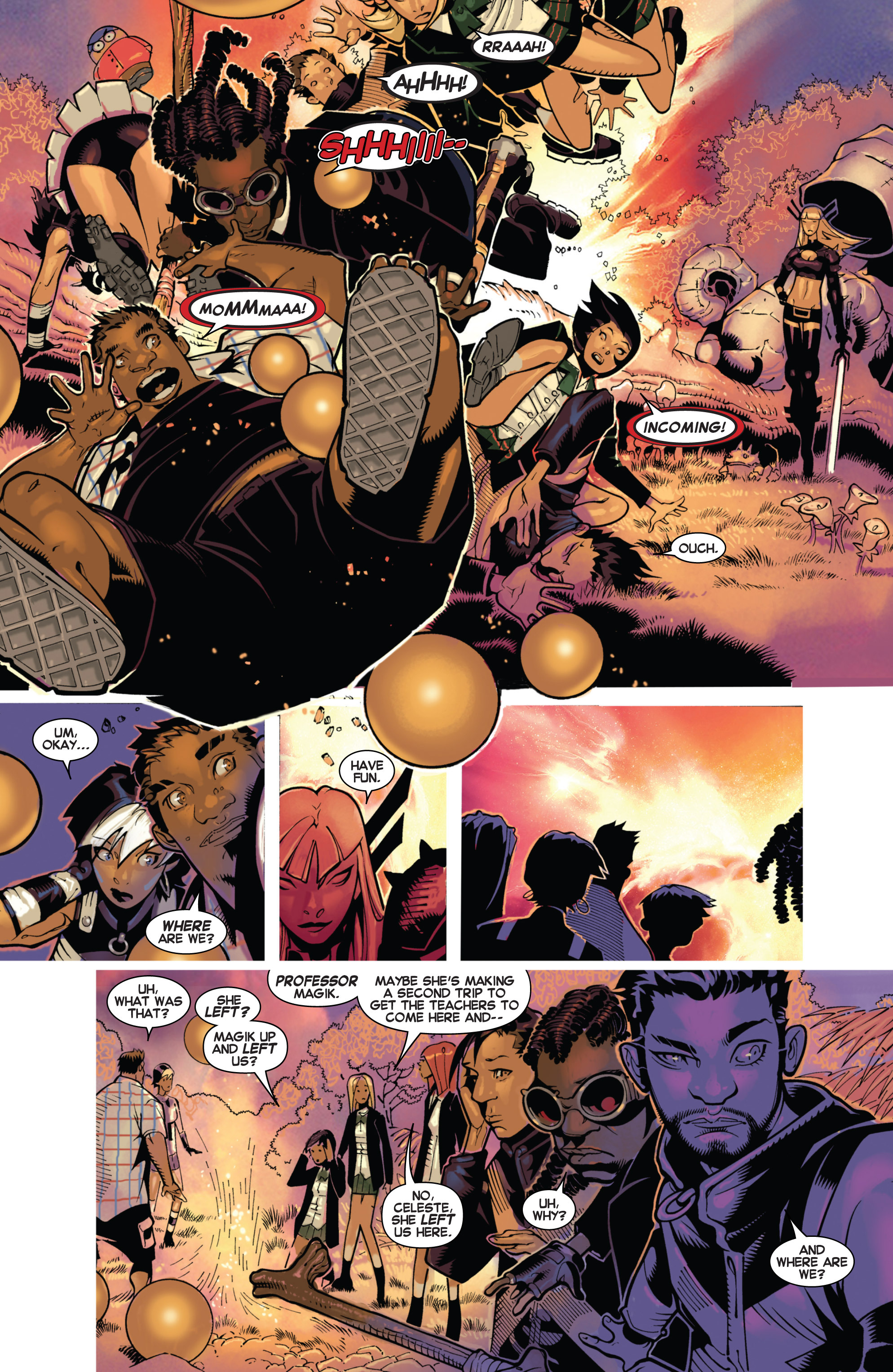 Read online Uncanny X-Men (2013) comic -  Issue # _TPB 3 - The Good, The Bad, The Inhuman - 67
