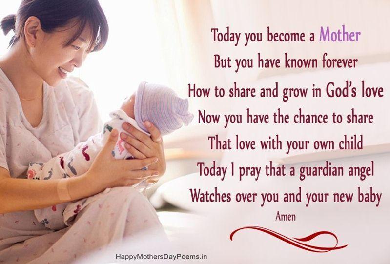 Prayer For New Mom