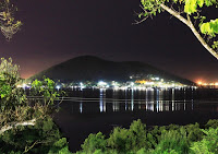 Pic of Tatana island at night