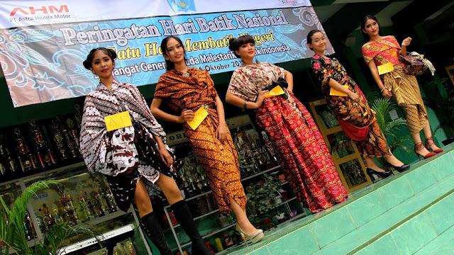 Tanamkan Kebanggaan Terhadap Batik, AHM Gelar Satu Hati Membatik Negeri
