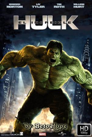 El increíble Hulk [2008] HD 1080P Latino [Google Drive] GloboTV