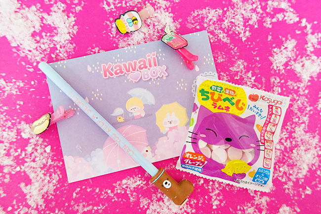 Kawaii Box, Review, Giveaway