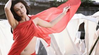 Bollywood actress Surveen Chawla hot navel