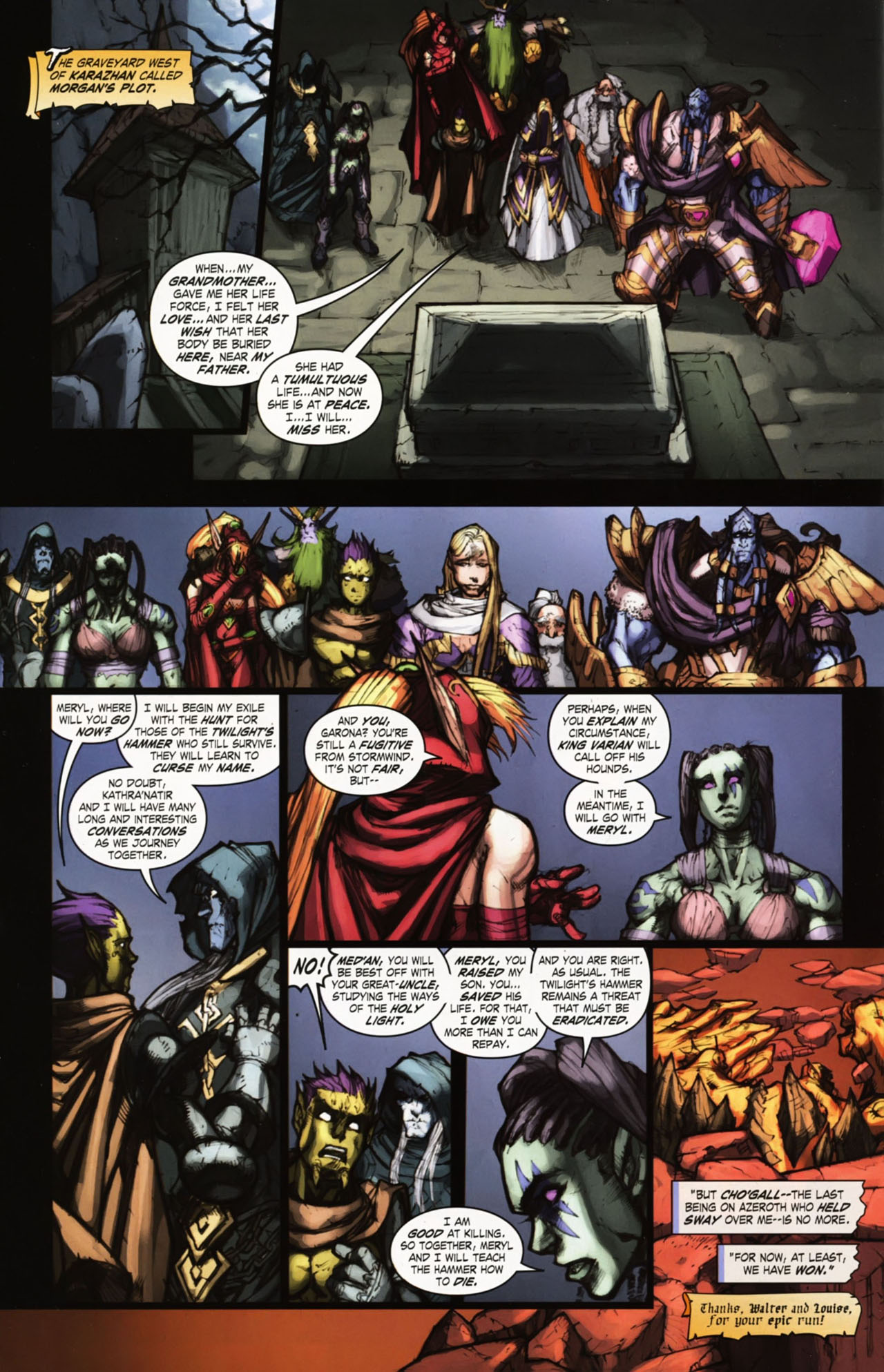 Read online World of Warcraft comic -  Issue #25 - 39