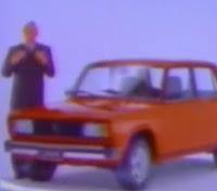 Propaganda da Laika, produzido pela Lada no começo dos anos 90