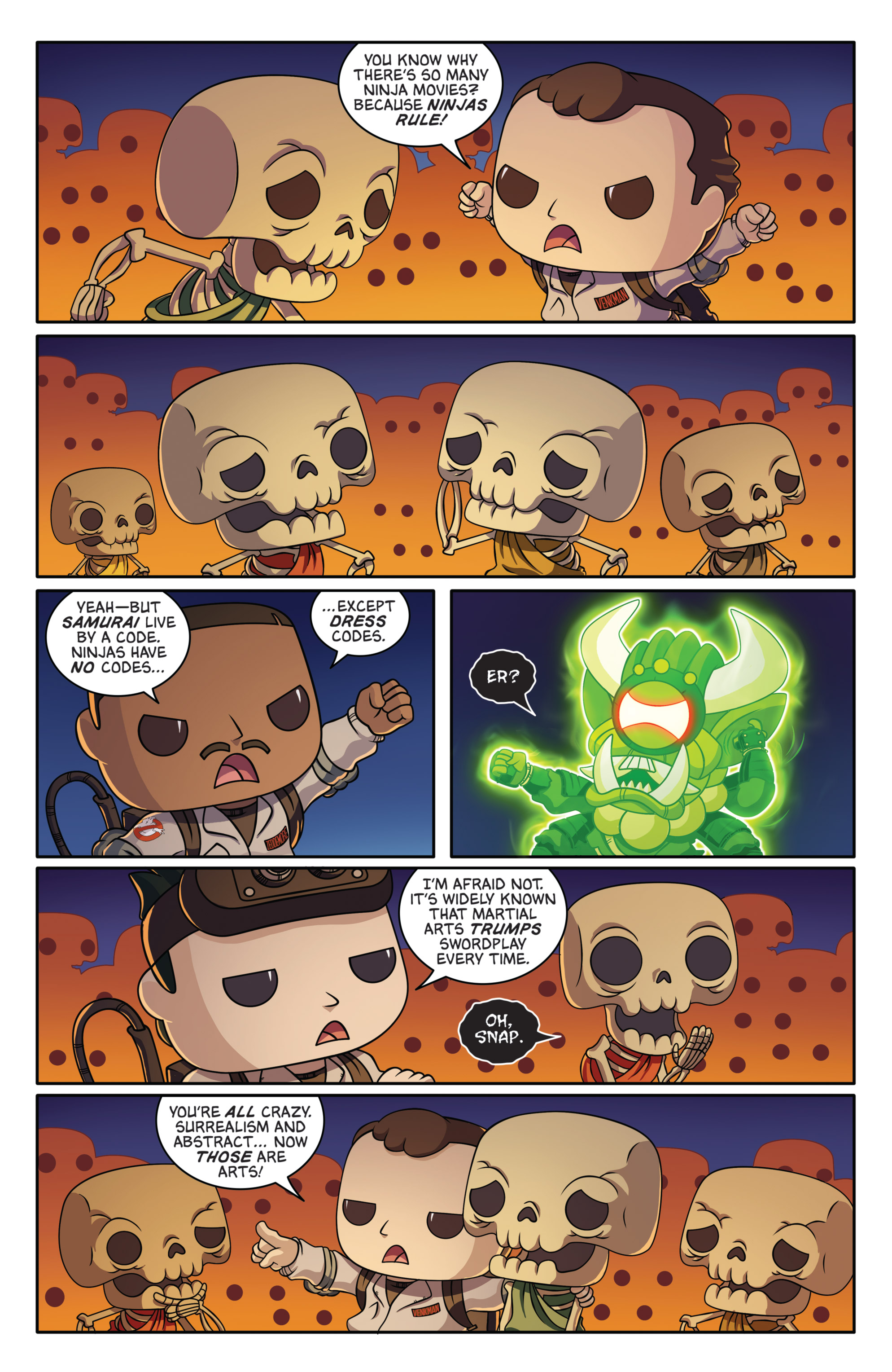 Read online Ghostbusters Funko Universe comic -  Issue # Full - 24