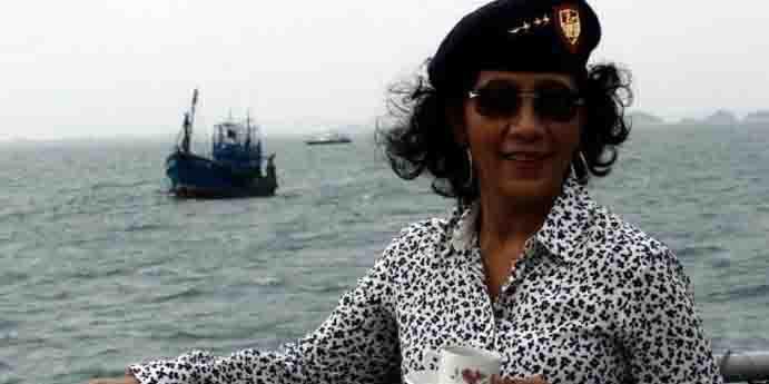 Abaikan Ucapan Luhut, Jokowi: Penenggelaman Kapal itu Memberikan Efek Jera