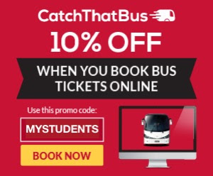 CatchThatBus Promo Code Bus Ticket Discount Offer