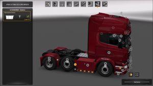 Custom Sideskirts for Scania