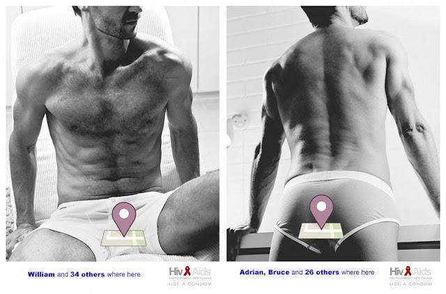 campañas prevención VIH hombres homosexuales sexo con hombres