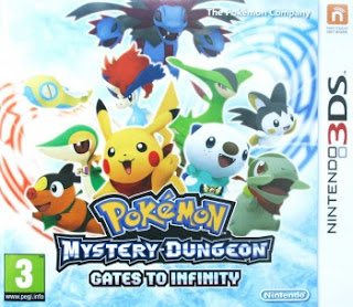 Pokemon Mystery Dungeon Gates to Infinity 3DS, español, mega