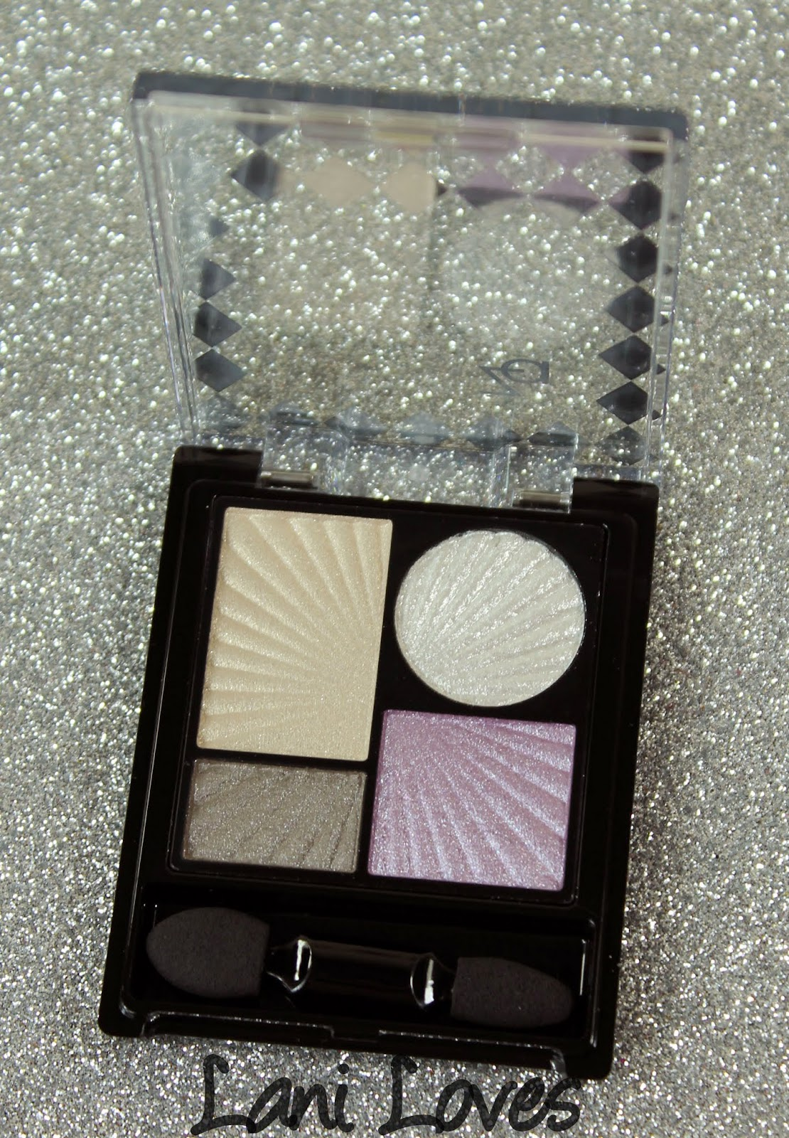 ZA Impact-Full Eyes Groovy Limited Edition Pure Silver eyeshadow palette
