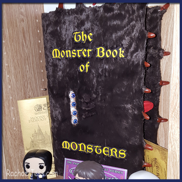 A must for any Harry Potter fan - a Monster Book of monsters