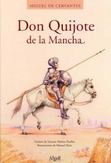 Portada del libro Don Quijote de la Mancha para descargar en pdf