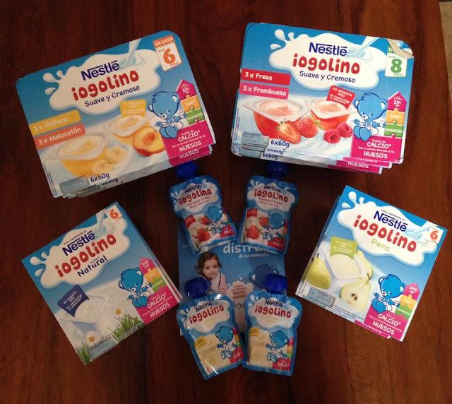 Sello de calidad de Madresfera: Iogolinos de Nestlé