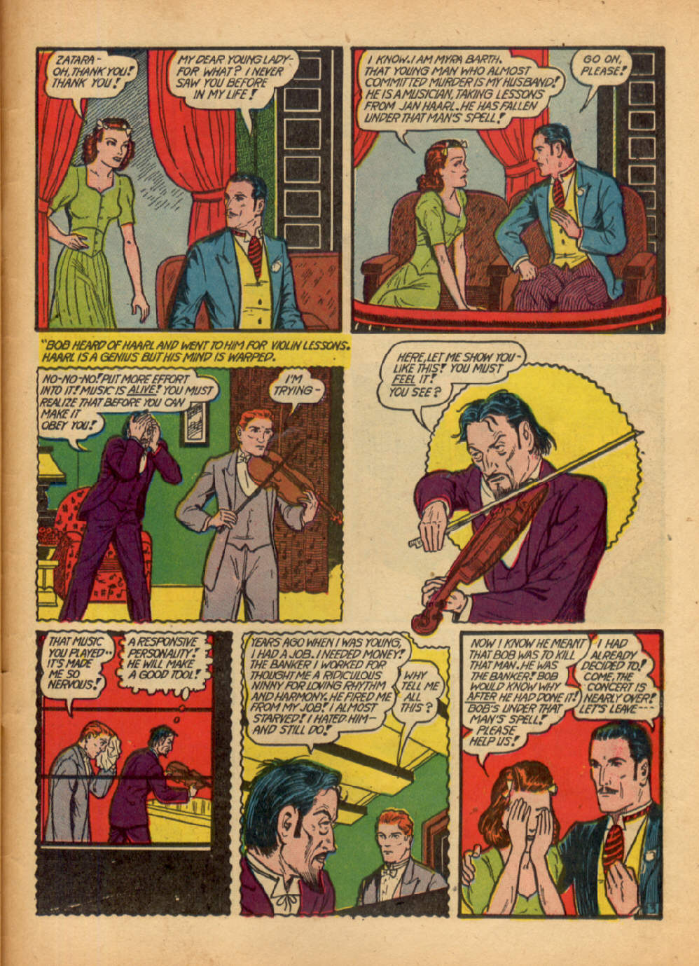 Read online Action Comics (1938) comic -  Issue #48 - 59