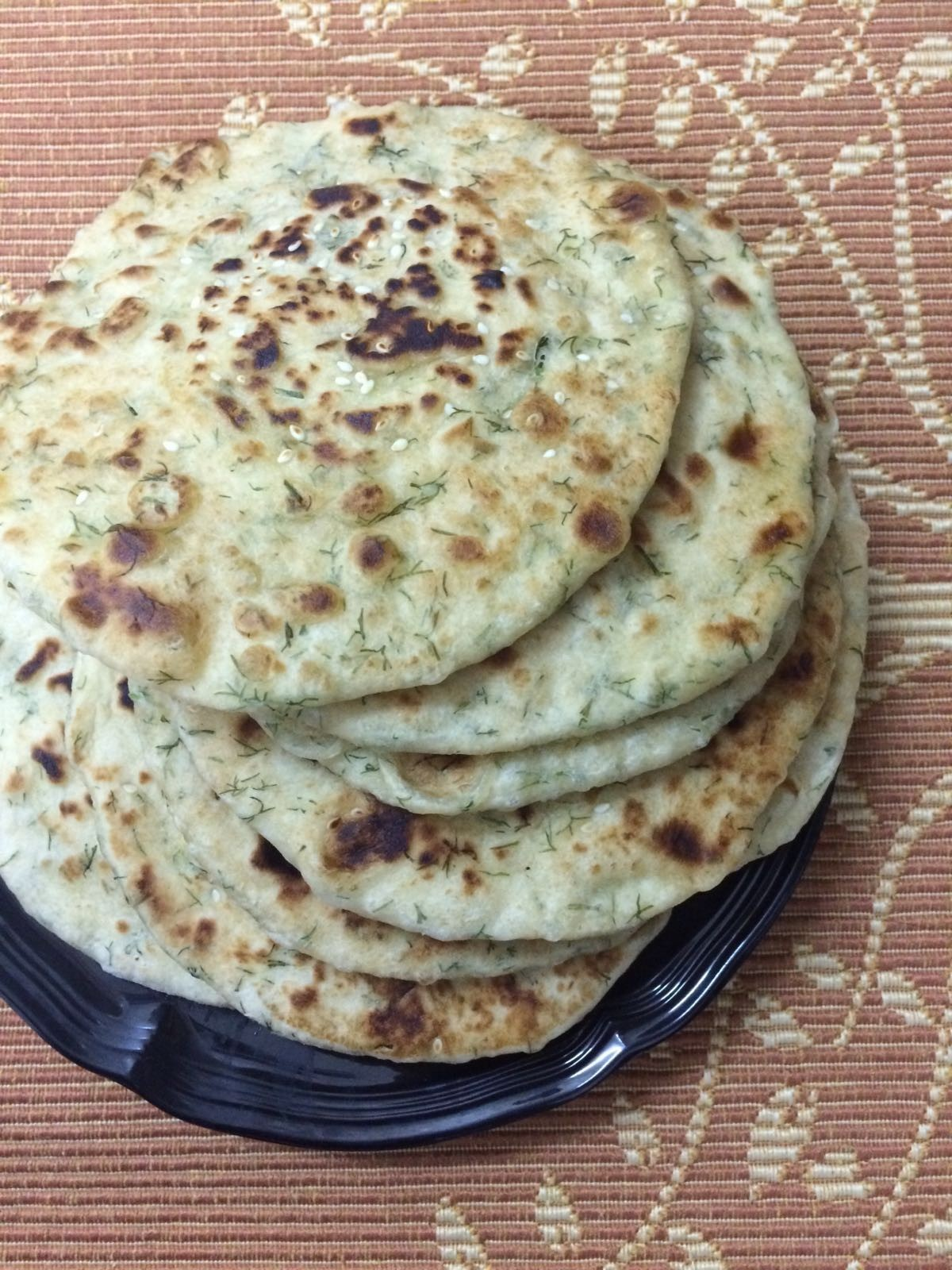 Dill Leaves Stuffed Kulcha
