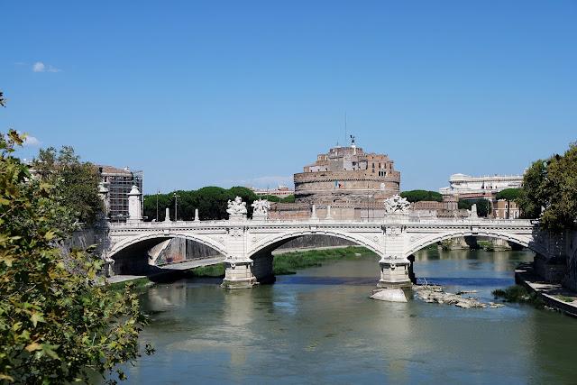 Rome, Roma, Blog, Voyage, basilique, centre historique,Chateau, Saint Ange, Tibre, Pont