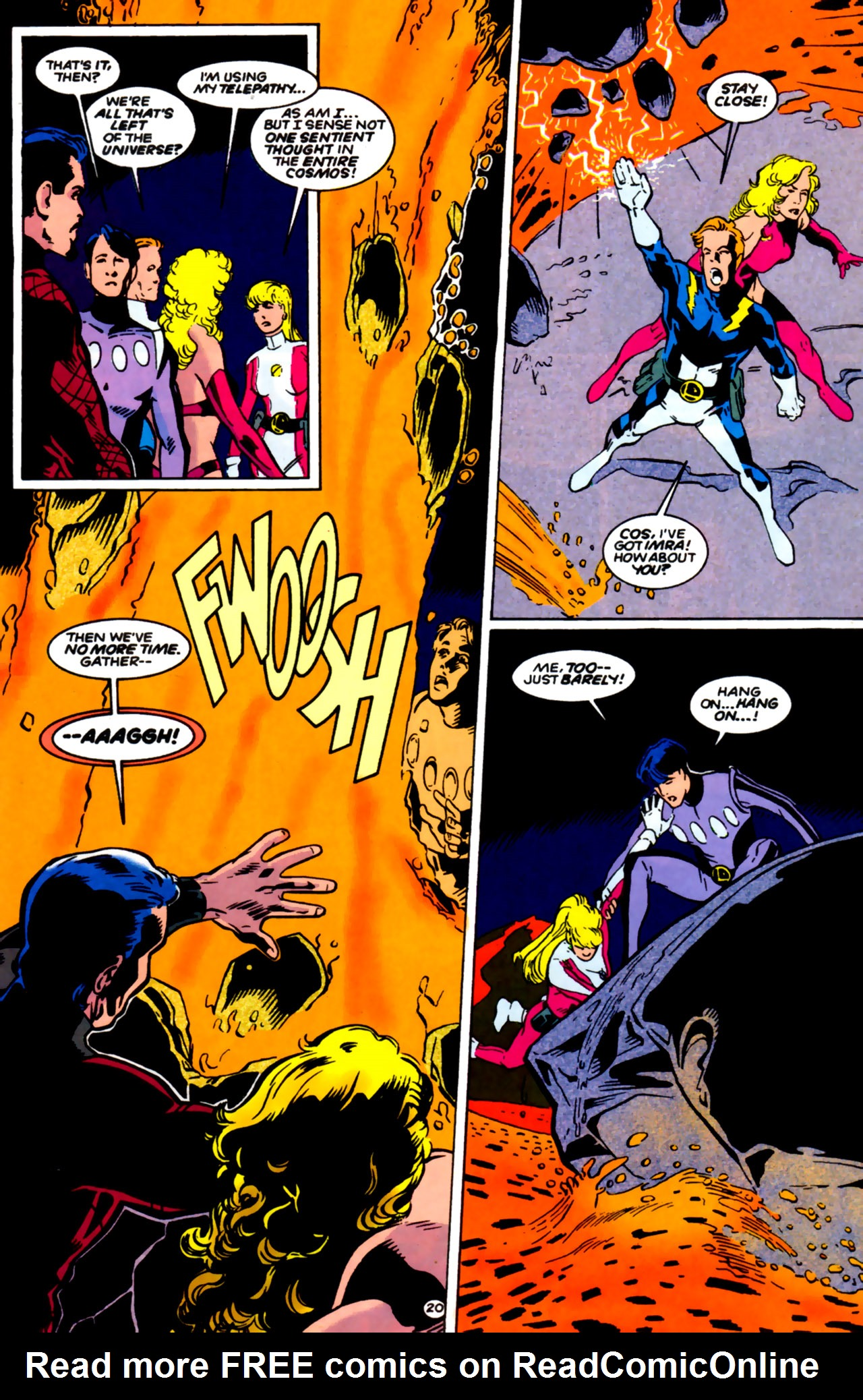 Legion of Super-Heroes (1989) 61 Page 19