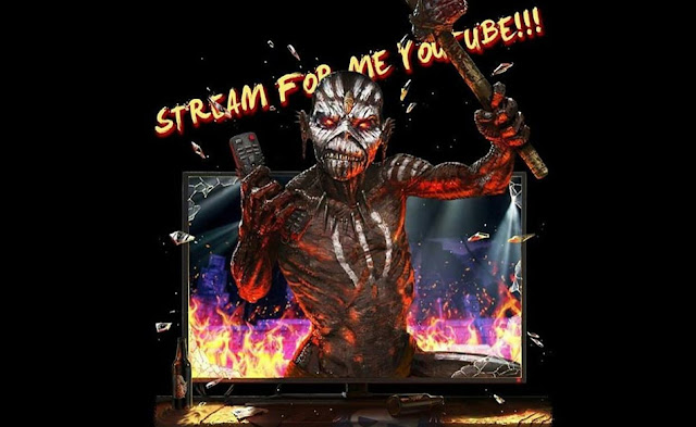 Iron Maiden The Book of Souls The Live Chapter youtube streaming 12 de novembro