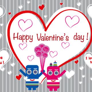 Kartu Ucapan Selamat Hari Valentine Untuk Teman Tercinta