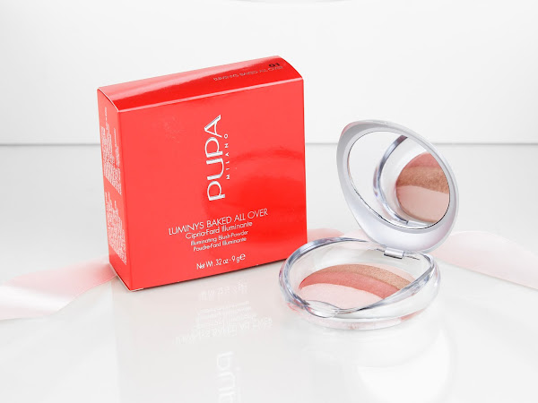 PUPA Illuminating Blush Powder - Stripes Rose