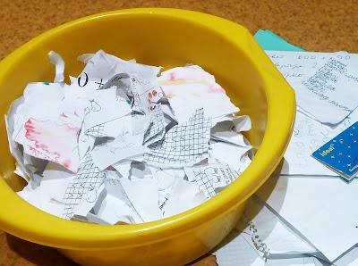 бумага своими руками, МК: собираем макулатуру