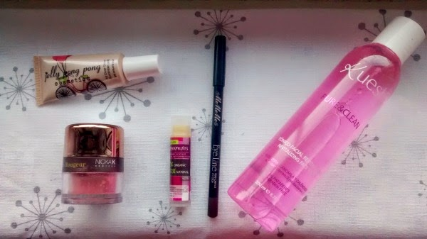 January Glossybox Contents