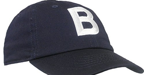 bacb81117483e Tiny Expressions Toddler Boys' and Girls  Navy Embroidered Initial Baseball  Hat Monogrammed Cap (B
