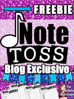 Note Toss Blog Exclusive Freebie by Tracy King
