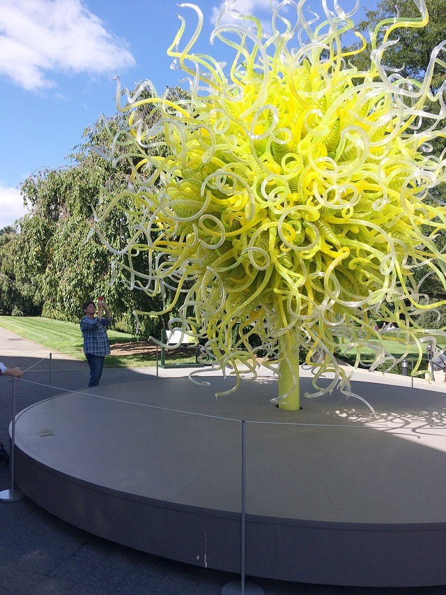 The Peak Of Tr S Chic Chihuly At The New York Botanical Gardens